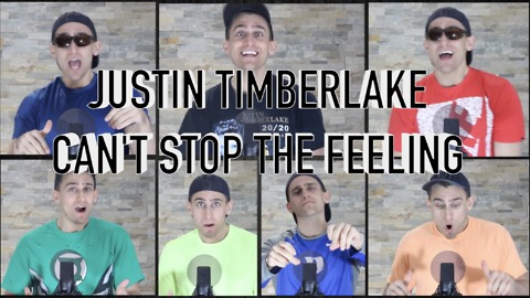 Amazing one-man cover of Justin Timberlake's 'Can't Stop The Feeling'