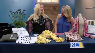 Local clothing line helps to heal
