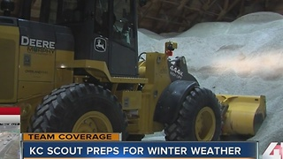Road crews ready to clear snow in Kansas and Missouri