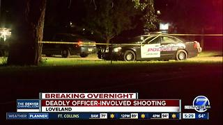 Police shoot, kill armed suspect after crash in Loveland - Video