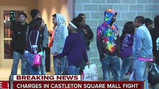 Charges in Castleton Square Mall fight - Video