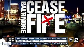 Baltimore cease fire movement heating up weeks before event - Video
