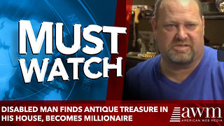 Disabled Man Finds Antique Treasure In His House, Becomes Millionaire - Video