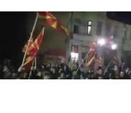 Conservative Party Supporters Celebrate in West Macedonia - Video