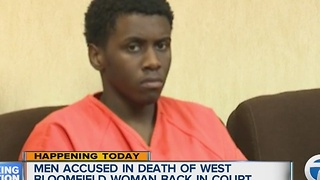 Two men accused in shooting death of West Bloomfield woman to appear in court - Video