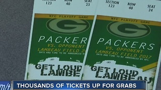 Tickets still available for Packers playoff game - Video