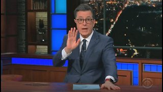 Stephen Colbert: Bret Baier couldn't make it on show because he was in major car accident