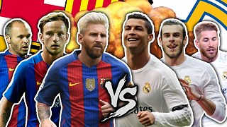 Barcelona vs Real Madrid! Who Is The BEST La Liga Team?! | FFO - Video