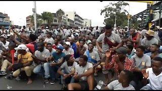 SOUTH AFRICA - Durban - Human rights day march (Video) (wVT)