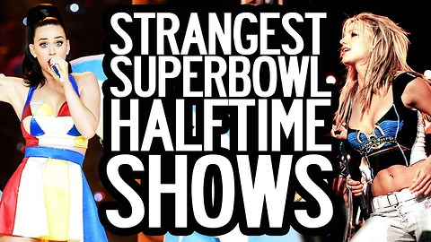 6 Strangest Super Bowl Halftime Shows