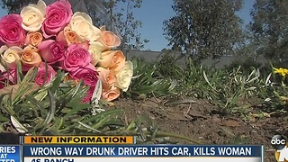 Woman killed by suspected drunk driver in 4S Ranch - Video
