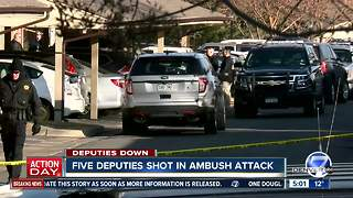 Douglas County deputy killed, 4 others injured in shooting at apartment complex; suspect dead - Video