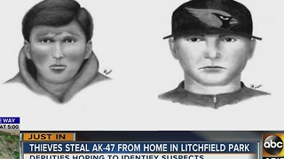 MCSO searching for Litchfield Park robbers - Video