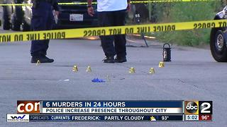 6 people killed in span of 24 hours - Video