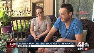 Man beaten, carjacked in Hyde Park neighborhood - Video