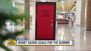New banking center offers money saving goals for the summer - Video