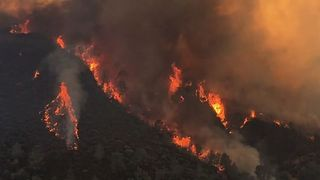 California's Detwiler Wildfire Forces Thousands From Their Homes - Video
