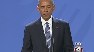 Obama suggests tough approach on Russia