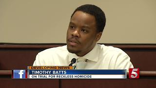 Jury Deliberations Resume In Batts Trial - Video