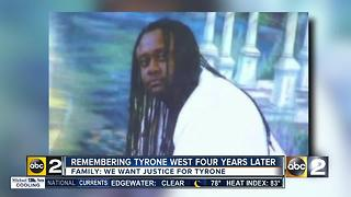 Tyrone West remembered four years after death while in police custody - Video
