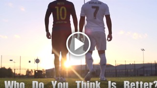 Messi VS Ronaldo: Who do you think is better? - Video