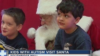 """Sensory-friendly Santa"" helps children with autism and other special needs"