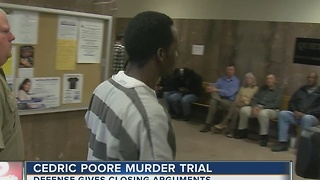 Poore murder trial closing arguments Friday