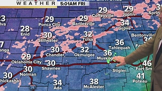 Friday winter weather forecast - Video