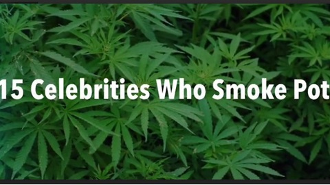 15 celebrities who smoke pot