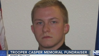 Memorial planned for fallen Trooper Trevor Casper - Video