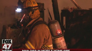 Deadly mobile home fire being investigated - Video