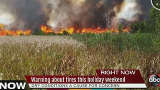 Warning about fires during the New Year holiday weekend - Video