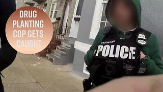 Note to police: Don't plant drugs on camera - Video