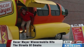 America's favorite hot dog on wheels visits Omaha.