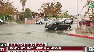 Body found inside home on Thursday morning - Video