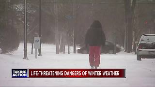 Life-threatening dangers of winter weather - Video