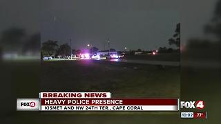 Cape Coral Police investigating shooting - Video