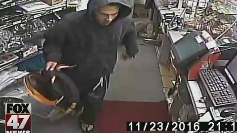 Police release photos of suspect in Jackson homicide