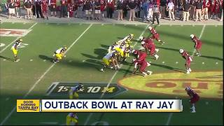 Outback Bowl preview: Michigan vs. South Carolina - Video