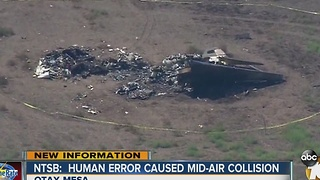 NTSB: Air traffic controller, pilots share blame in mid-air collision over Brown Field - Video
