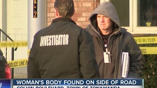 Body of elderly woman found dead in Town of Tonawanda - Video