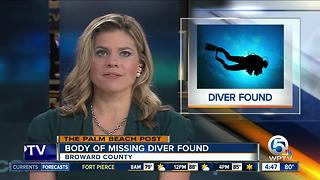 Body of missing Florida diver found after 2-day search off Broward County