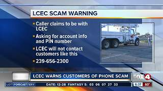 LCEC warns customers of phone scam - Video
