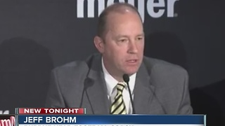 Purdue hires Jeff Brohm to coach football team - Video