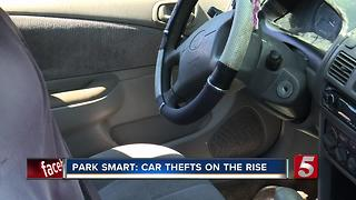 Metro Police Urge Citizens To Lock Car Doors & Remove Keys - Video
