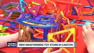 New Magformers toy store opens in Canton - Video