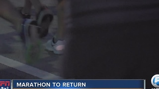 Palm Beaches Marathon Returns