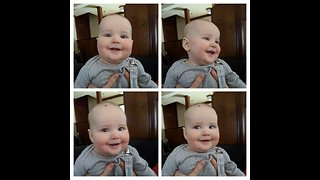 Cutest Baby Giggle Ever!