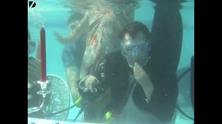 Underwater Dinner Party - Video