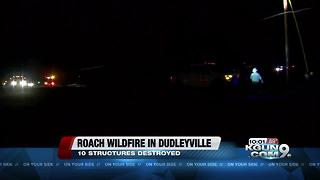 Brush Fire is burining in Dundleyville - Video